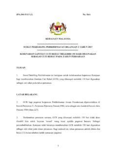 Surat Pekeliling Perkhidmatan Bilangan 2 Tahun 2017 Surat Pekeliling Perkhidmatan Bilangan 2 Tahun 2017 Pdf Pdf4pro