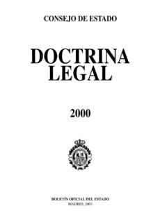 DOCTRINA LEGAL - consejo-estado.es