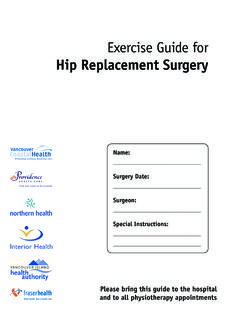 Hip Replacement Surgery - Grand River …