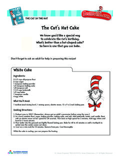The Cat's Hat Cake - Seussville.com