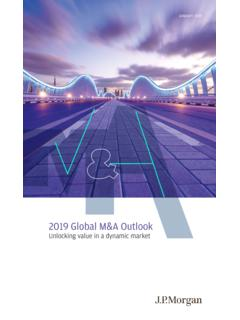 2019 Global M&A Outlook