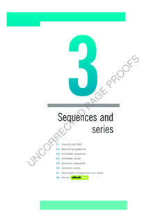 Sequences and series - Wiley
