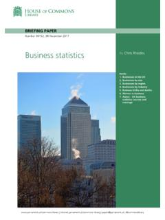 Business statistics By Chris Rhodes