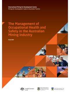 The Management of Occupational Health and Safety in the ...