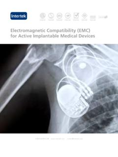 Electromagnetic Compatibility (EMC) for Active …