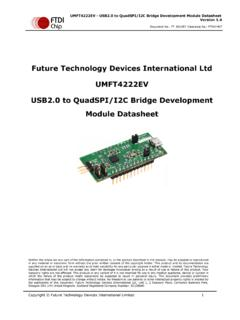 USB2.0 to QuadSPI/I2C Bridge Development Module - FTDI