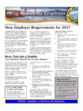 New Employer Requirements for 2017