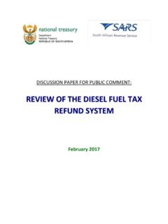 REVIEW OF THE DIESEL FUEL TAX REFUND SYSTEM