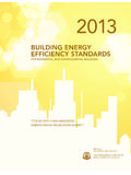 BUILDING ENERGY EFFICIENCY STANDARDS