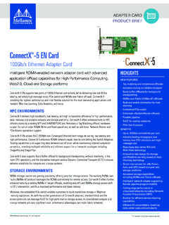 ConnectX -5 EN Card 5 100Gb/s Ethernet Adapter …