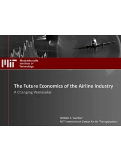 The Future Economics of the Airline Industry