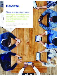 Digital workplace and culture How digital technologies are ...