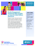 Family Engagement: Partnering With Families to Improve ...