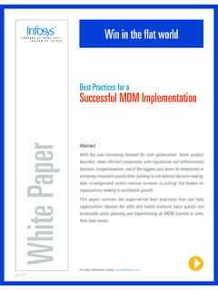 Best Practices for a Successful MDM Implementation