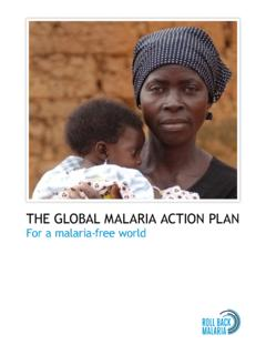 The Global Malaria Action Plan - UNHCR