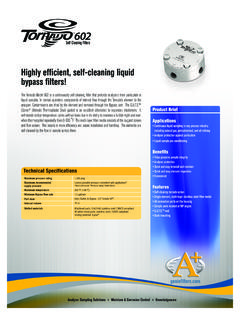 Highly efficient, self-cleaning liquid bypass filters!