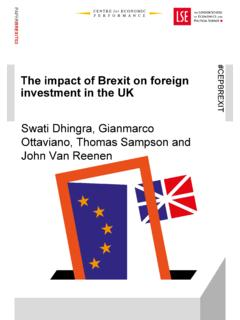 The impact of Brexit on foreign investment in the UK