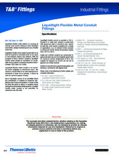 Liquid-tight flexible metal conduit fittings