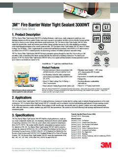 3M Fire Barrier Water Tight Sealant 3000WT L
