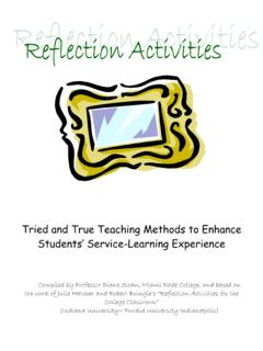 Tried and True Teaching Methods to Enhance …