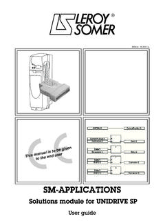 SM Applications Module Getting Started Guide - …