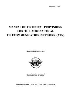 MANUAL OF TECHNICAL PROVISIONS FOR THE …