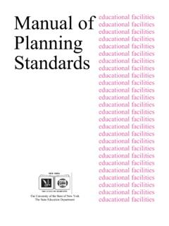 SED manual of planning standards 1998 - New York State ...