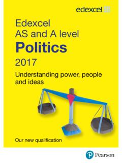 Edexcel AS and A level Politics - Pearson …