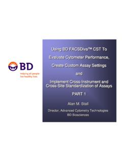 Using BD FACSDiva™ CST to Evaluate ... - BD …