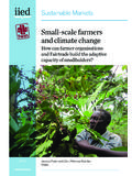 Small-scale farmers and climate change