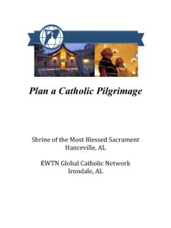 Plan Catholic PilgrimageCov - EWTN Global …