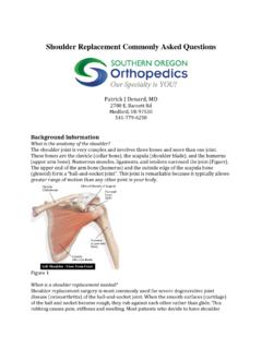 Shoulder Replacement Commonly Asked Questions