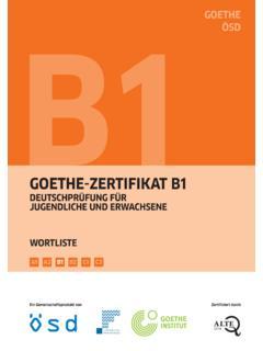 B1 Wortliste 2016 02qxp B1 Wort Goethe Institut B1 Wortliste