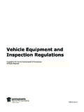 Vehicle Equipment and Inspection Regulations