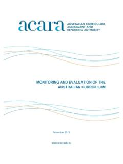 MONITORING AND EVALUATION OF THE …