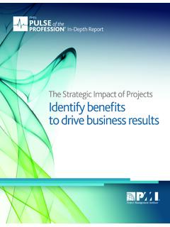 Strategic Impact of Projects: Identify Benefits to Drive ...