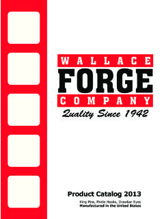 Quality Since 1942 - Wallace Forge