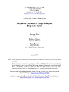 Adaptive Experimental Design Using the Propensity Score