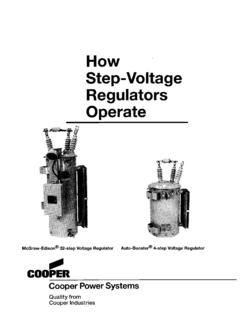 77006 How Step-Voltage Regulators Operate