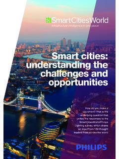 Smart cities: understanding the challenges and opportunities