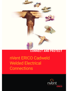 CADWELD WELDED ELECTRICAL CONNECTIONS