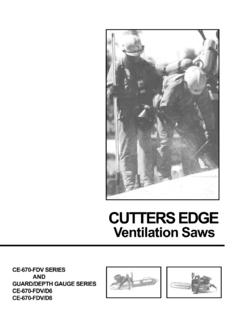 CUTTERS EDGE Ventilation Saws