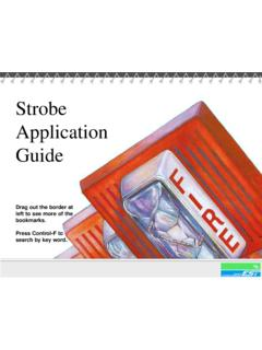 Strobe Application Guide - Canadian Fire Alarm …