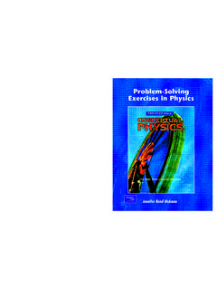 Exercises in Physics - myreaders.info