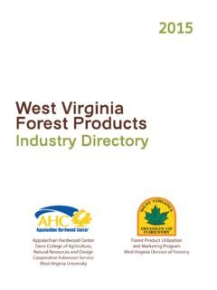 West Virginia Forest Products