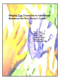 Helping You Transition to Adulthood: Resources …