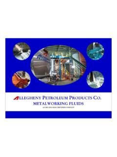 Allegheny Petroleum Products Co. ISO 9001:2008 …