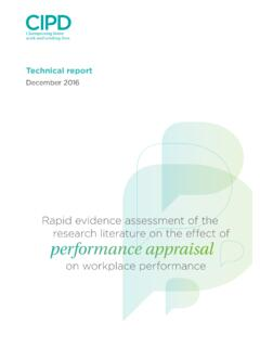 Technical report - CIPD
