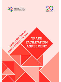 TRADE FACILITATION AGREEMENT
