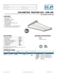 RECESSED TROFFER - ILP - Industrial Lighting Products